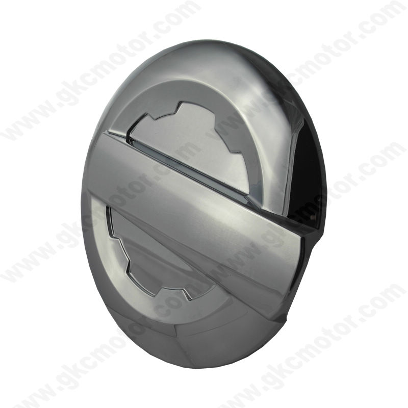 15-16 Chevy Silverado / 15-16 GMC Silverado Chrome Gas Tank Cover Fuel Door Cover  sc 1 st  Chrome Mirror Cover Chrome Door Handle Cover By GKC-TW & 15-16 Chevy Silverado / 15-16 GMC Silverado Chrome Gas Tank Cover ...
